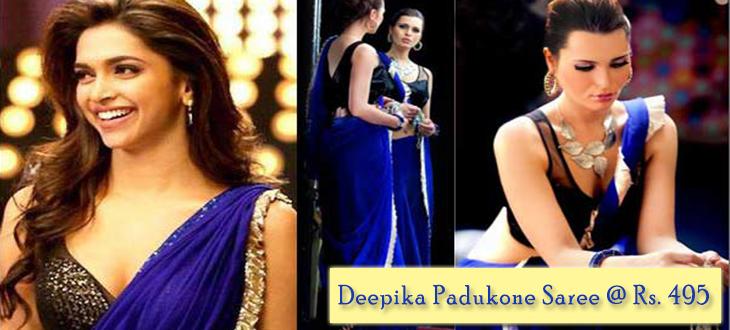 Deepika Sarees @ Rs. 495