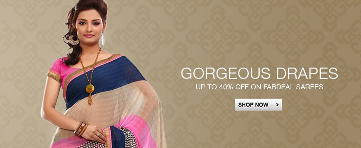 40% Off On Sarees