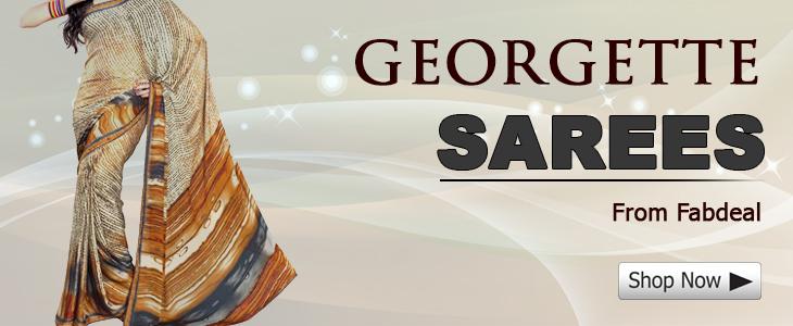 Georegette Special Sarees